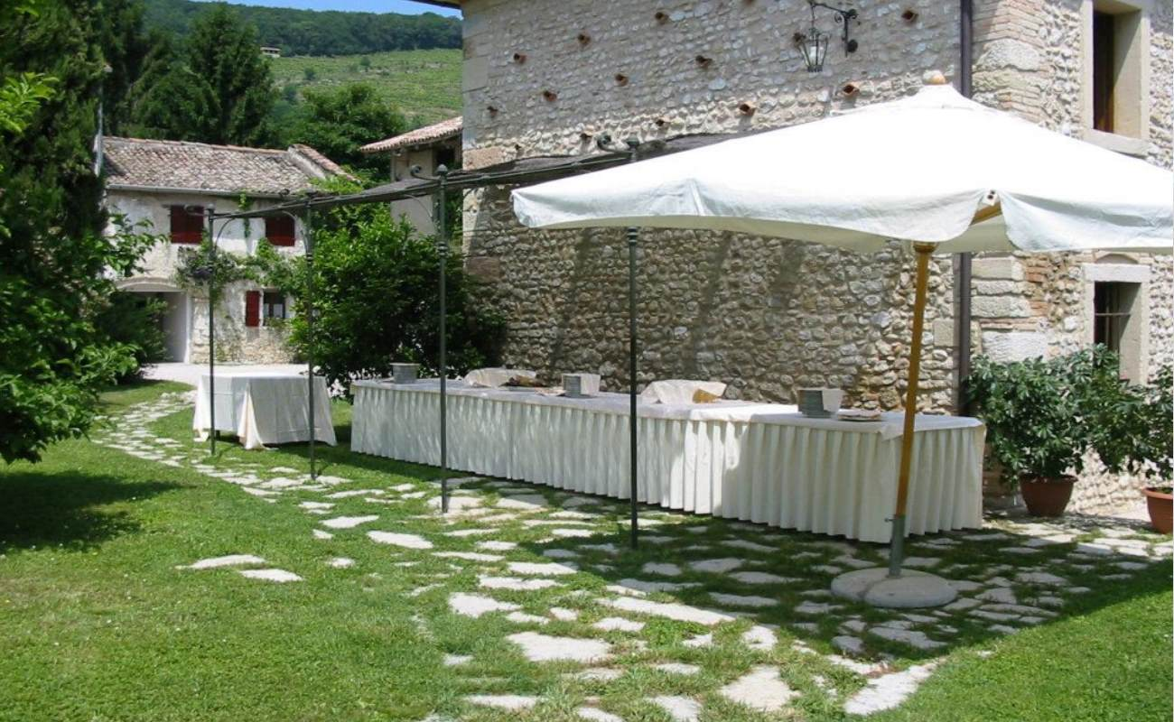 Buffet Festa in Giardino